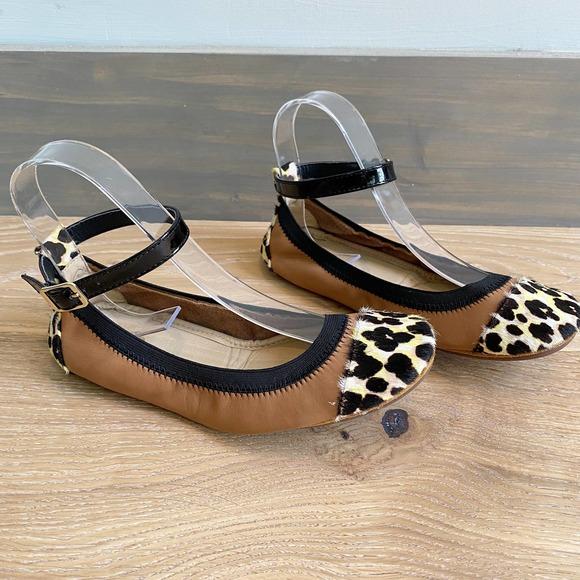 Yosi Samra Abby Ankle Strap Foldable Ballet Flat 7